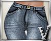 *V* Blue Jeans
