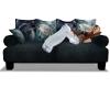Blue RavenWolf Couch