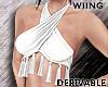 [W] Tassel Top Derivable