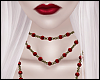 \/ Red Pearls ~ Gold