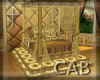 Gold Luxery Bed
