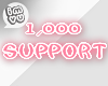 1k Support