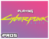 F Cyberpunk 2077 Playing