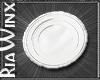 White China Plate