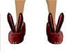 Vamp Bunny Slippers