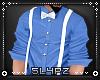 !!S Blue + White Shirt