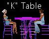 """""""K"""" Club Table for 4"""
