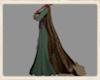 Nordic wool cloak