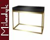 MLK Gold Sofa Table