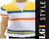 LG1 Yellow Polo Shirt