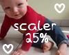 м| 25% Baby Scaler