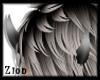 Demon Horns Grey/Black