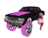 pink/blk box chevy
