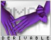 0 | Long Ruffle Gloves