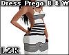 Dress Prego B & W