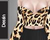 Leopard Crop Top e