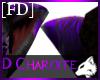 D Charoite Cat Ear M/F