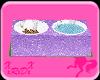 Purple Glitter Pet Dish