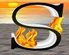Animated Flame Letter  S