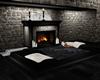 LC| Beach Home Fireplace