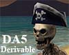 (A) Pirate Skeleton
