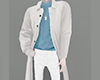 [NR]White Trench Long