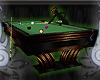 Black n Gold Pool Table