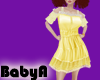 BA Sundress Baby Yellow