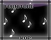 [KOP] White Musicnotes