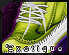 .e` Exo kicks; Lime