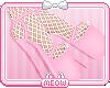 ePink Fishnet Heels