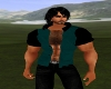 Dk Green Muscle Vest Top
