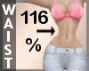 Waist Scaler 116% F A