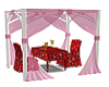 Pink Curtain Tent