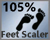 Feet Scaler 105% M