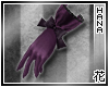[T] Purple Lolita Gloves