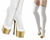 Moonstone Boots White