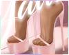 ✰Satin Heels PINK