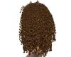 golden fuzzy hair