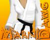 Black Belt White Gi