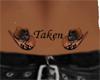 BBJ Hats Taken Tattoo