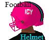 ICY Pink Football Helmet