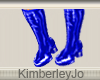 Go Go Boots Blue