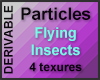 Particle Flying Insects
