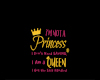 Not a princess! Bimbo