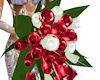 !Bride's bouquet red