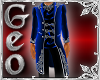 Geo Uniform Jacket blue