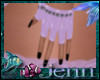 lJl Sas Gloves Purple