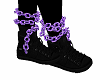 Purple Ankle Chains 1