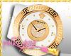 <P>White Versace Watch#2